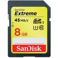 SanDisk Extreme SDHC 8GB UHS-I Flash Memory Cards