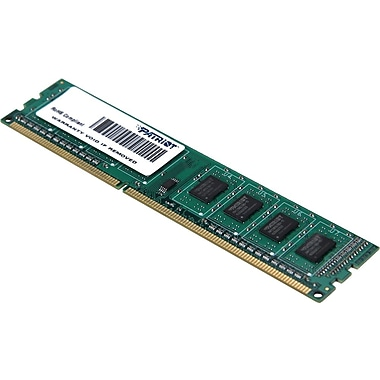Patriot Signature 4GB (1 x 4GB) DDR3 (240-Pin SDRAM) DDR3 1333 (PC3 10600) Universal Desktop Memory