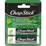ChapStick® – Baume pour les lèvres Classic, menthe, paq./2