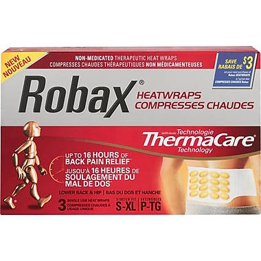 Robax® Lower Back & Hip HeatWraps with ThermaCare®