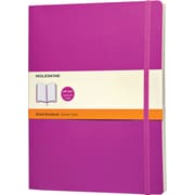 Moleskine Classic Colored Notebook, Extra Large, Ruled, Orchid Purple, Soft Cover, 7-1/2 x 10