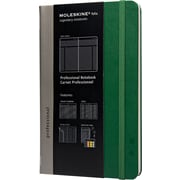 Moleskine Folio Professional Notebook, Large, Oxide Green, 5 x 8-1/4