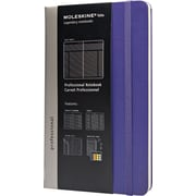 Moleskine Folio Professional Notebook, Large, Brilliant Violet, 5 x 8-1/4