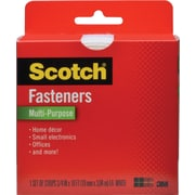 Scotch® Multi-Purpose Fastener, White, 3/4 x 5'