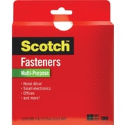 "Scotch® Multi-Purpose Fastener, White, 3/4"" x 12'"