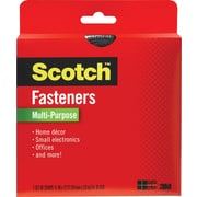 "Scotch® Multi-Purpose Fastener, Black, 3/4"" x 12'"