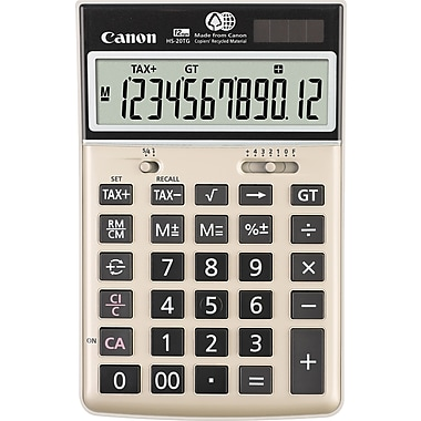 Canon 1074B013 HS-20TG Semi Desktop Calculator