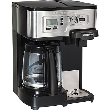 Hamilton Beach 2-Way FlexBrew® Coffeemaker, Stainless Steel