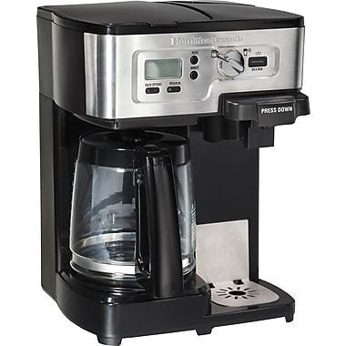 Hamilton Beach® 2-Way FlexBrew® Coffeemaker, Stainless Steel