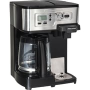 Hamilton Beach® 2-Way FlexBrew® Coffeemaker, Stainless Steel