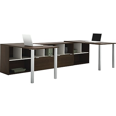 Bestar 50855-78 Writing Desk, Tuxedo