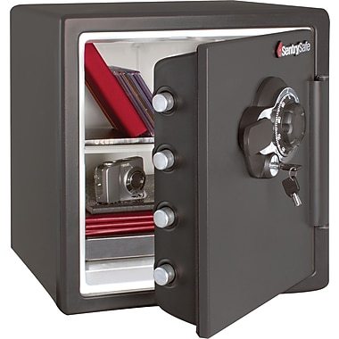 SentrySafe® SFW123DSB Combination Fire-Safe