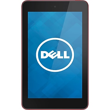 Dell Venue 8in. 32GB, Red Tablet