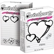 Sweethearts Candy Hearts Color Your Own Valentines Box, 1 oz., 36/Box