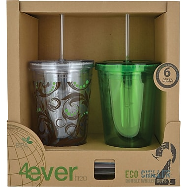 4ever h20 Eco Chiller Cups, Assorted Styles