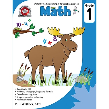 Canadian Curriculum Press Math Workbook, Grade 1
