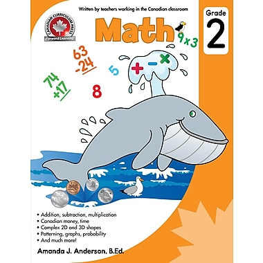 Canadian Curriculum Press Math Workbook, Grade 2