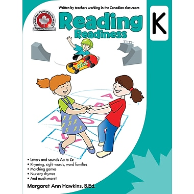 Canadian Curriculum Press Reading Workbook, Kindergarten