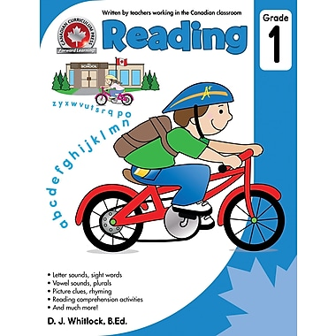 Canadian Curriculum Press Reading Workbook, Grade 1