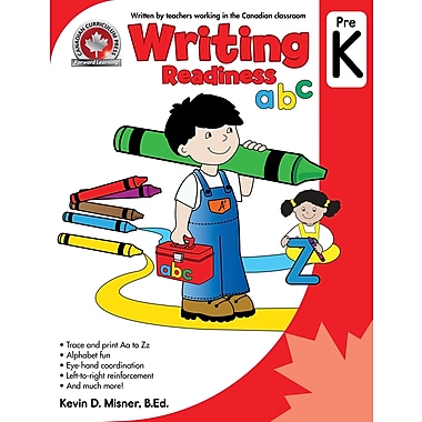 Canadian Curriculum Press Writing Workbook, Pre-K