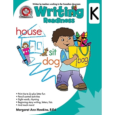 Canadian Curriculum Press Writing Workbook, Kindergarten