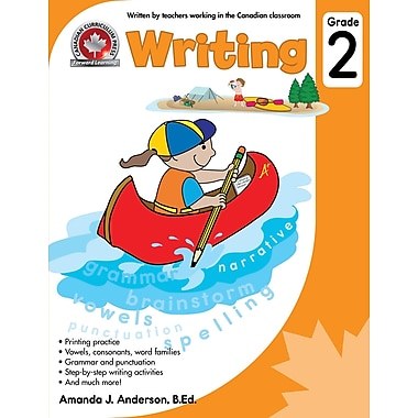 Canadian Curriculum Press Writing Workbook, Grade 2