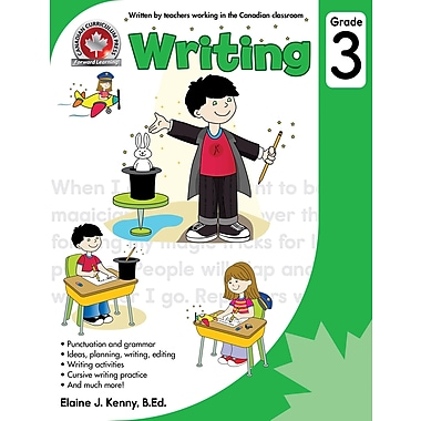Canadian Curriculum Press Writing Workbook Grade 3