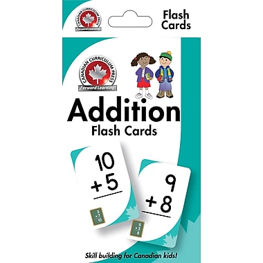 Canadian Curriculum Press Addition Flashcards