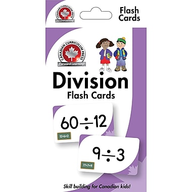 Canadian Curriculum Press Division Flashcards