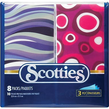 Scotties Facial Tissue, Pocket Pack