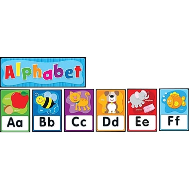 Canadian Curriculum Press Alphabet Bulletin Board Set
