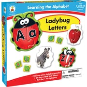Canadian Curriculum Press Lady Bugs Board Game, Letters
