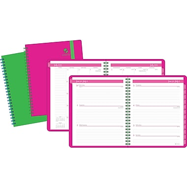 2014/2015 AT-A-GLANCE® Academic Color Play Weekly/Monthly Appointment Book, 8 1/2in. x 11in.