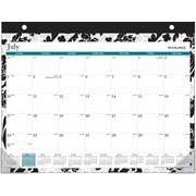 2014/2015 AT-A-GLANCE® Madrid Desk Pad, 21 3/4 X 17
