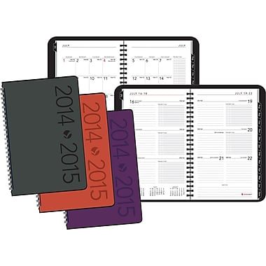 2014/2015 AT-A-GLANCE® Academic Contemporary Weekly/Monthly Planner, 4 7/8in. x 8in.