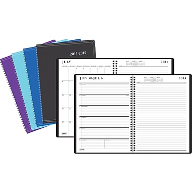 2014/2015 Staples® Recycled Academic Weekly/Monthly Planner, 8in. x 11in.