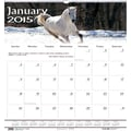 House of Doolittle Earthscapes Wildlife Wall Calendar, Full Color Photos, 12in. x 12in., Each