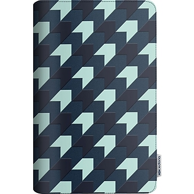 X-Doria SmartStyle iPad Air Case, Blue Arrow Check