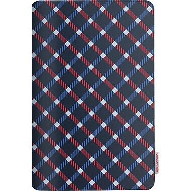 X-Doria SmartStyle iPad Air Case, Modern Plaid Blue