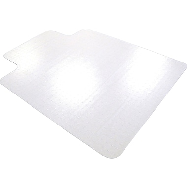 Floortex Traditional 47in. x 35in. with Lip Polycarbonate Hard Floor Chairmat