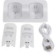 Dual Charging Station plus 2 Battery Packs for Wii Controller