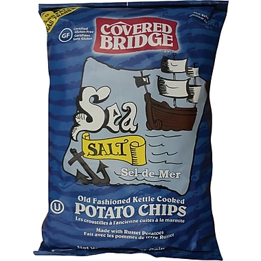 Covered Bridge Sea Salt Potato Chips