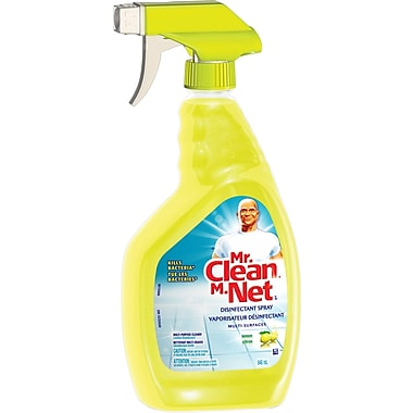 Mr. Clean Multi-Surfaces Disinfectant Spray Lemon Scented