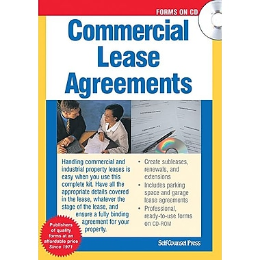Self Counsel Press Commercial Lease Agreements
