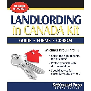 Self Counsel Press Landlording In Canada Complete Kit