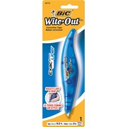 BIC® 50743/WOELP11 Correction Tape Pen, 5 mm(W) x 6 m(L)