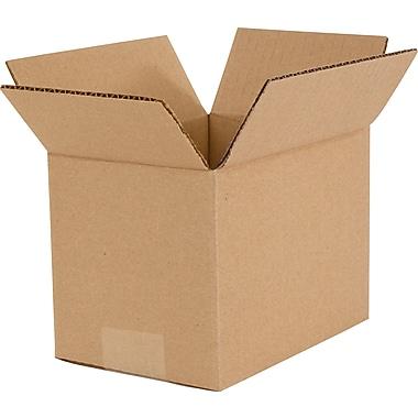 Boîtes en carton ondulé, 7 po x 5 po x 5 po, lot de 25