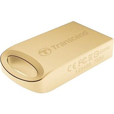 Transcend 510 JetFlash USB 2.0 Flash Drive, 32GB, Gold