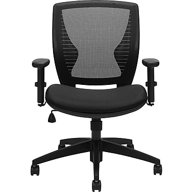 Offices to Go™ Mesh Back Ergonomic Office Chair, Black