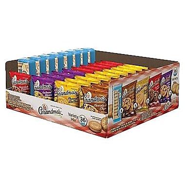Grandma's® Cookie Variety Pack, 36 Bags/Box